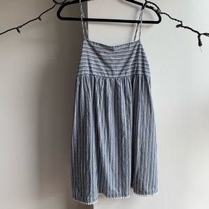 Striped Minidress